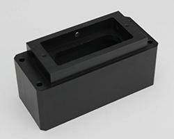 黒U-PE (超高分子量ポリエチレン) 樹脂 プラスチック 切削加工